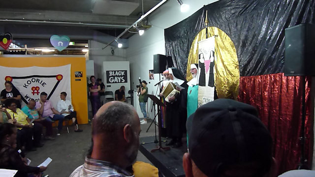 Kooris Gras Exhibition Opening